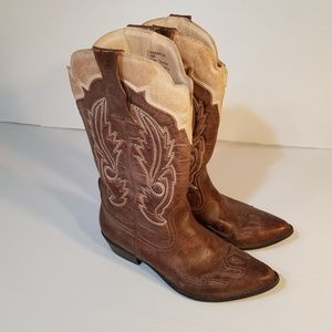 Coconuts by Matisse Cowgirl Western Boots sz 7.5M